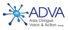 Asian Dengue Voice and Action Logo